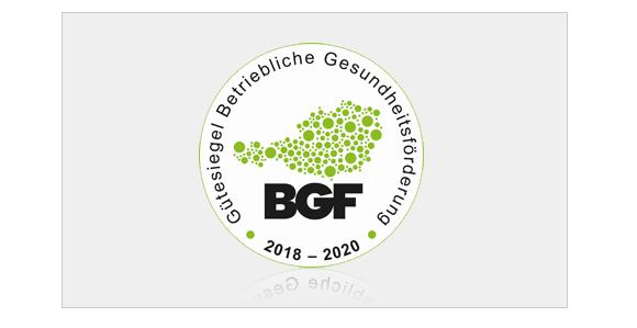BGF Auszeichnung