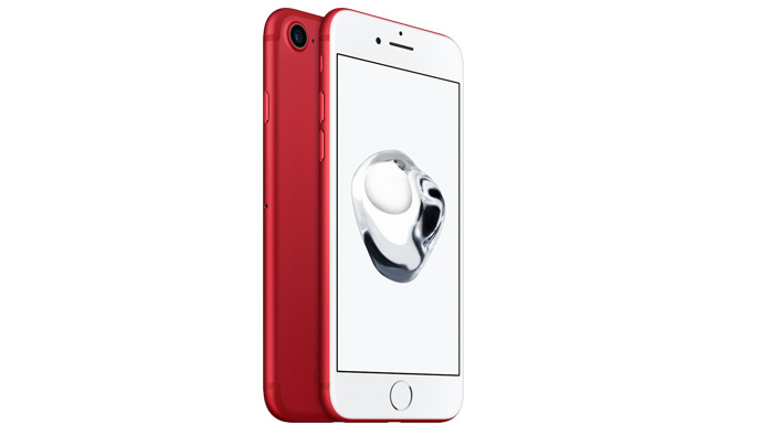 Apple iPhone 7 - auch in der 128GB (PRODUCT)RED Special Edition verfügbar!