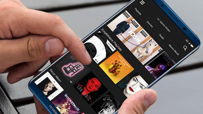 A1 Xplore Music App