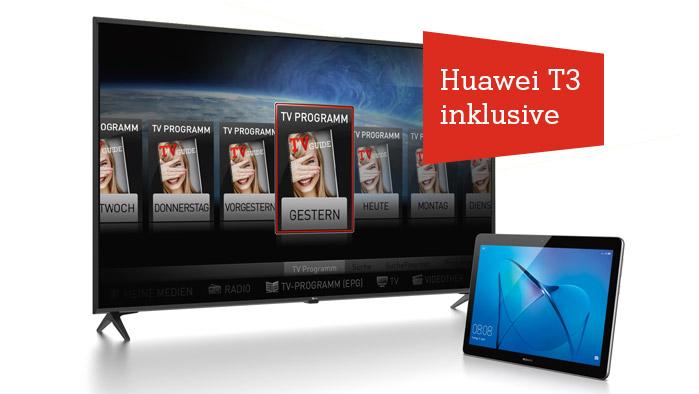 TV Kombi inklusive Huawei T3