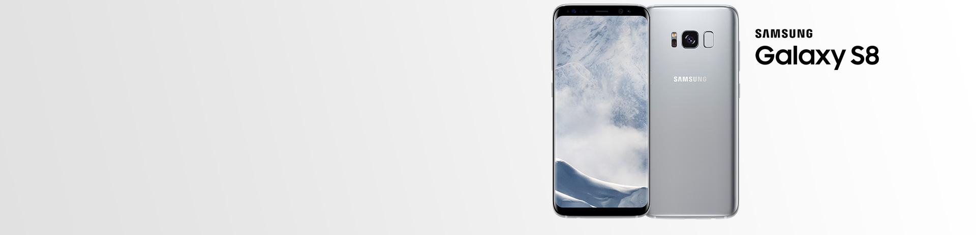 Samsung Galaxy S8 - exklusiv bei A1 in arctiv silver!