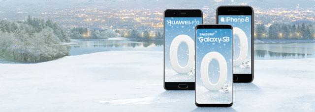 Top-Smartphones um € 0,-