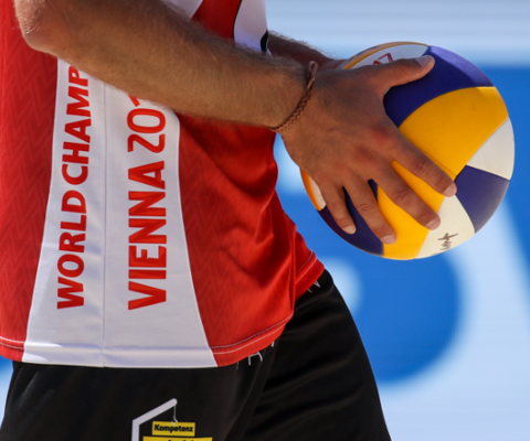 Beachvolleyball A1 Vienna Major 2018