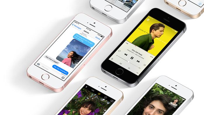 iPhone SE in unterschiedlichen Variationen