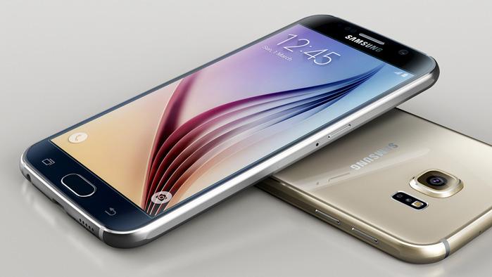 Samsung Galaxy S6 edge Front und Rückseite
