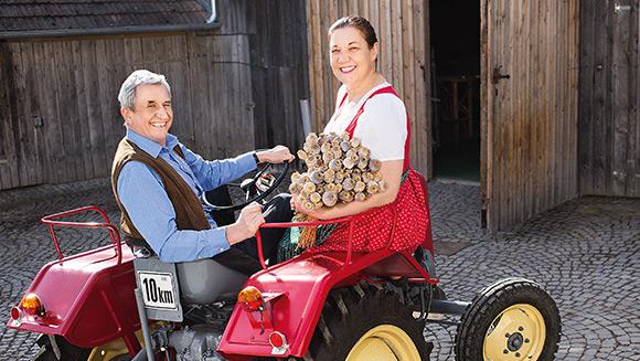 Johann und Rosemarie Neuwiesinger (Fotograf Lukas Dostal)