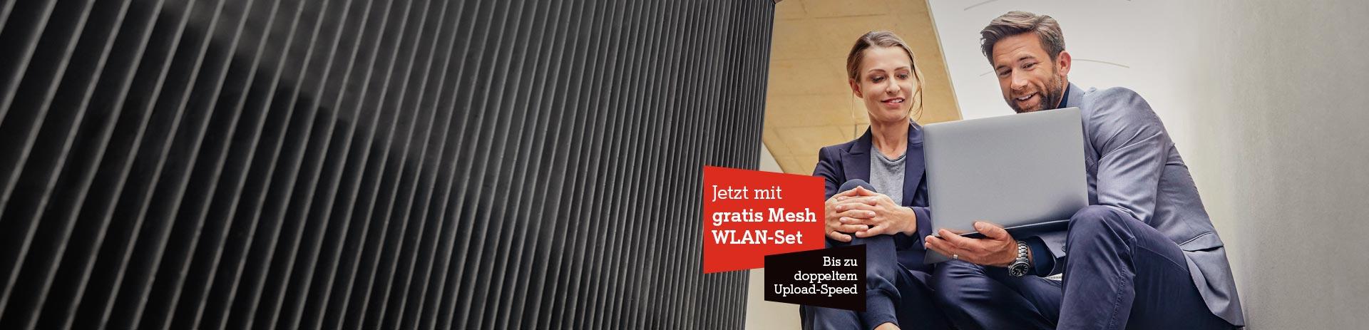 Business Internet mit Gratis Mesh WLAN