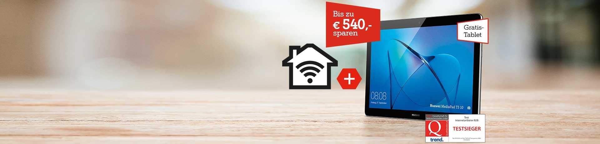 A1 Business Internet mit Gratis Tablet