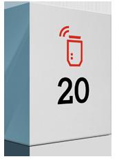 20 Mbit/s