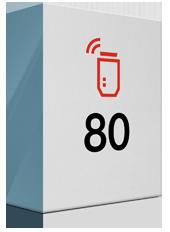 80 Mbit/s