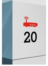 20 Mbit/s und Premium Modem