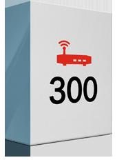 300 Mbit/s und Premium Modem