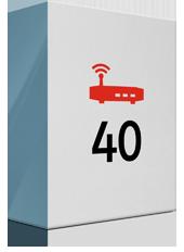40 Mbit/s und Premium Modem