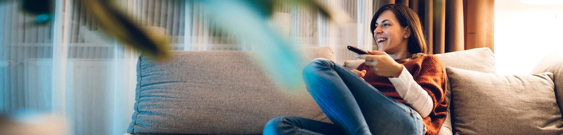 Internet + TV für zuhause