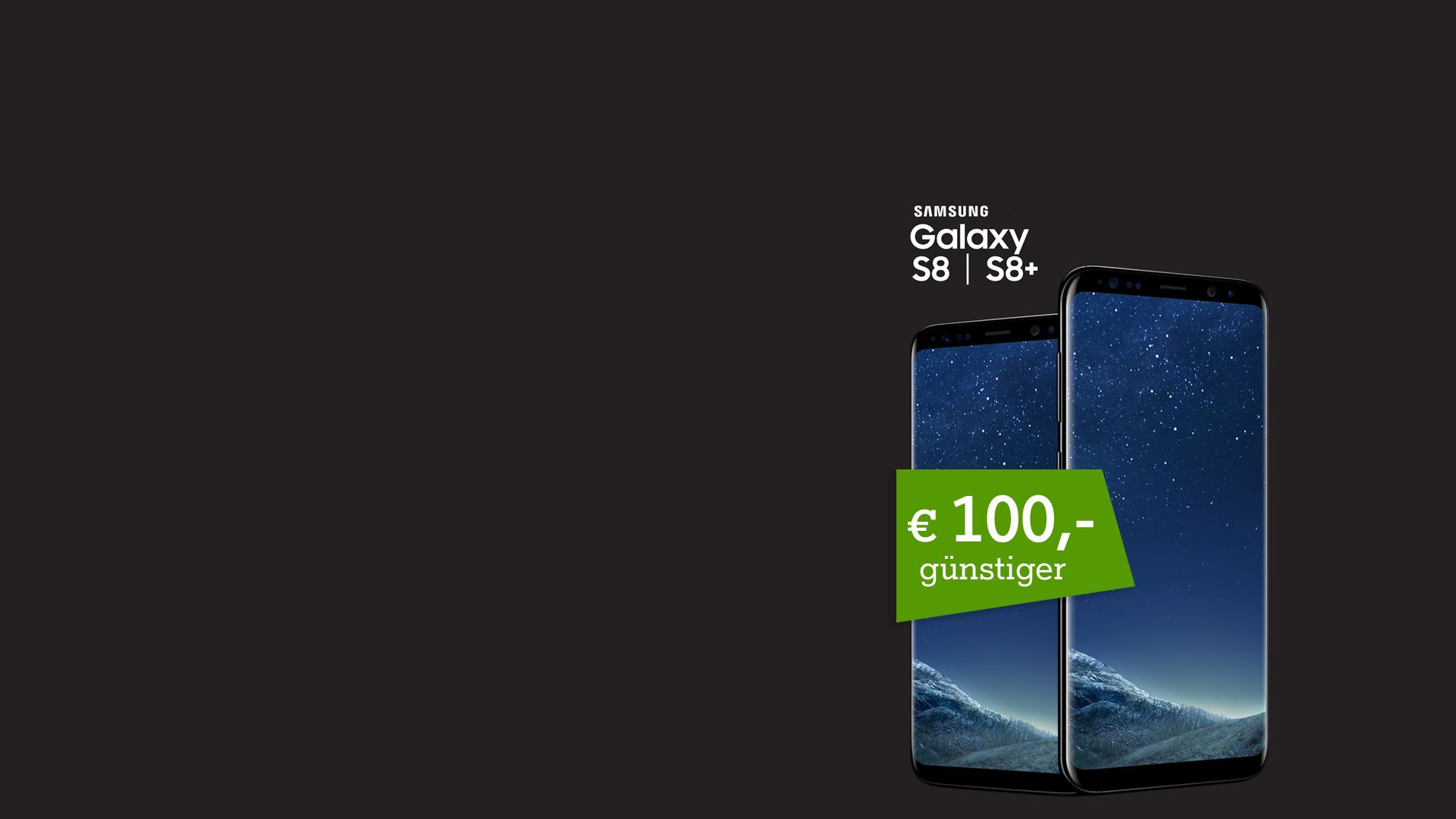 Samsung Galaxy S8 jetzt € 100,- günstiger