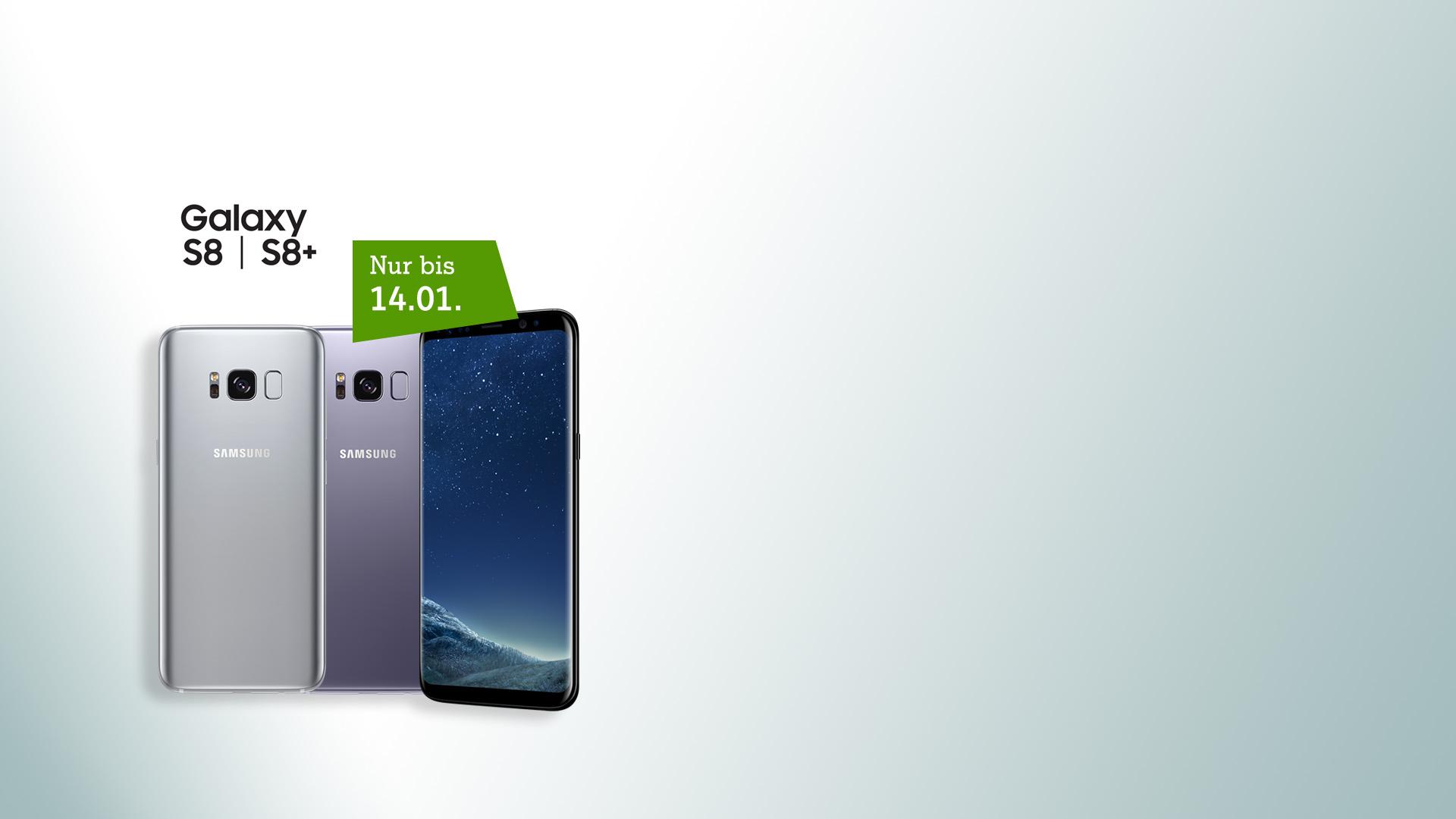 Samsung Galaxy S8 - jetzt vorbestellen und 2.000 Mobilpoints sichern!