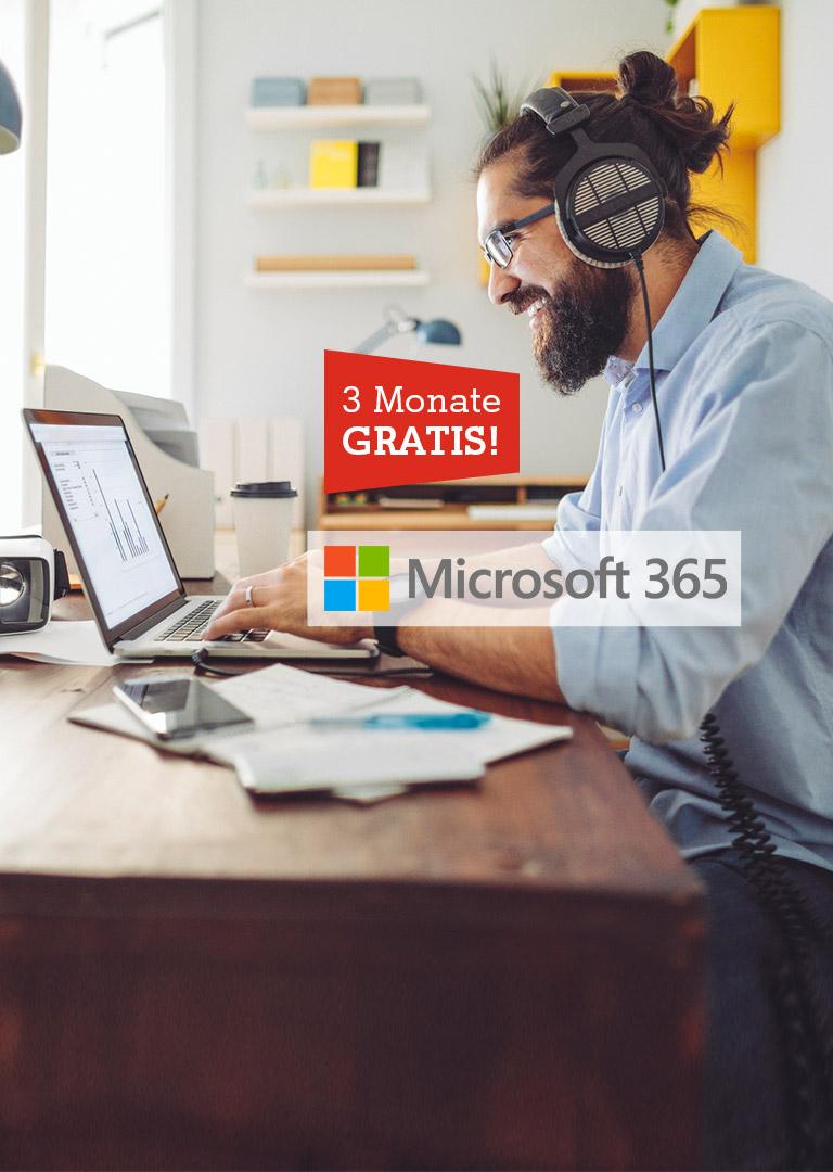 MS365 3 Monate gratis