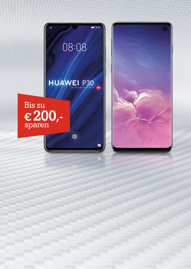 Top Smartphones um € 200,- günstiger!