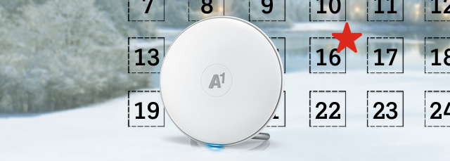 A1 Mesh WLAN am 16. Dezember günstiger im Adventkalender