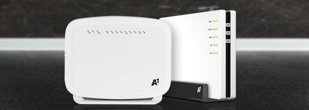 Zusatzoptionen Festnetz Internet A1net