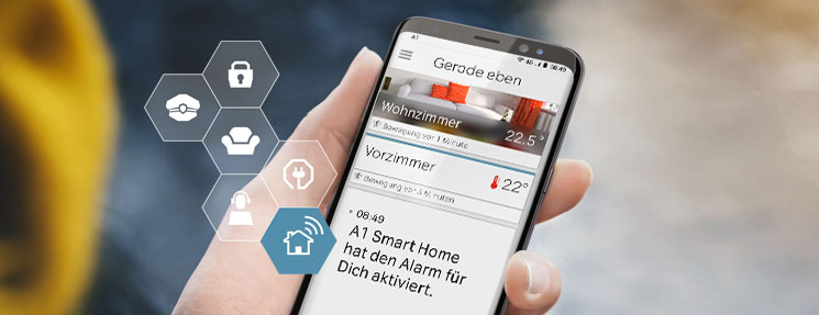 A1 Smart Home App für Ihr Haus