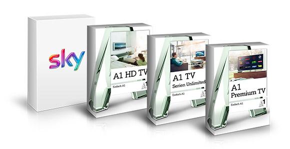 A1 TV Plus Zusatzoptionen