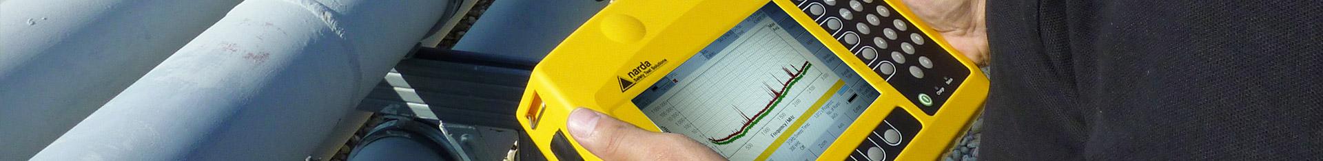 Bildausschnitt von einem Messgerät