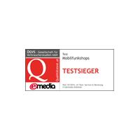 eMedia Mobilfunkshops Testsieger