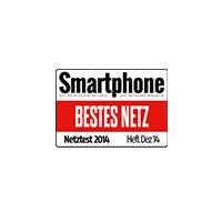 Smartphone Award bestes Netz 2014