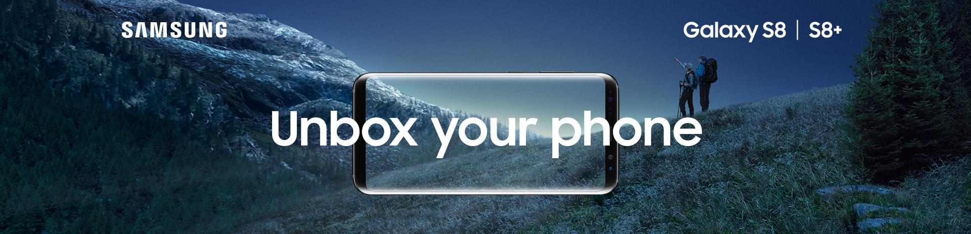 Samsung Galaxy S8 / S8+ bei A1