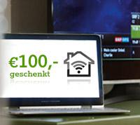 € 100, -geschenkt