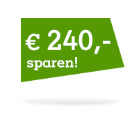 € 240,- sparen!