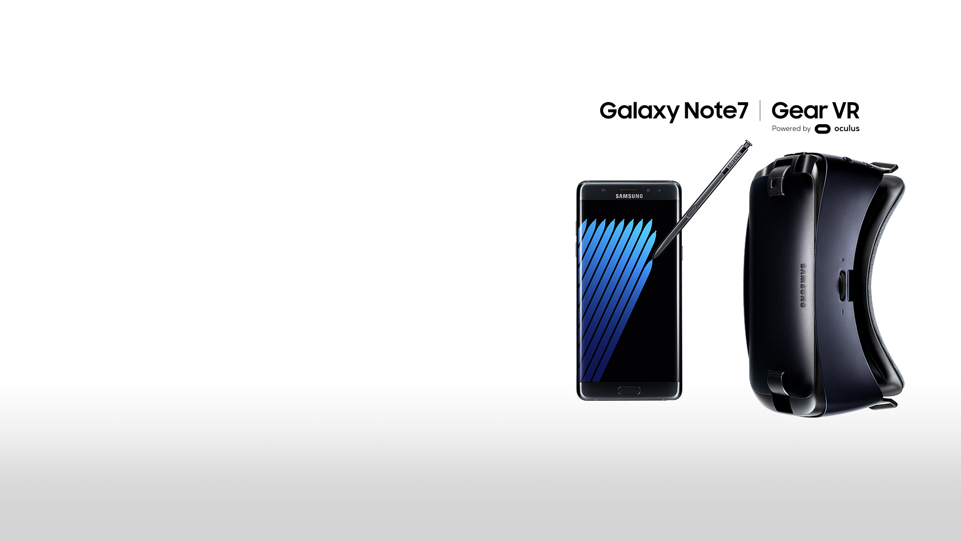 Samsung Galaxy Note 7 mit Gear VR