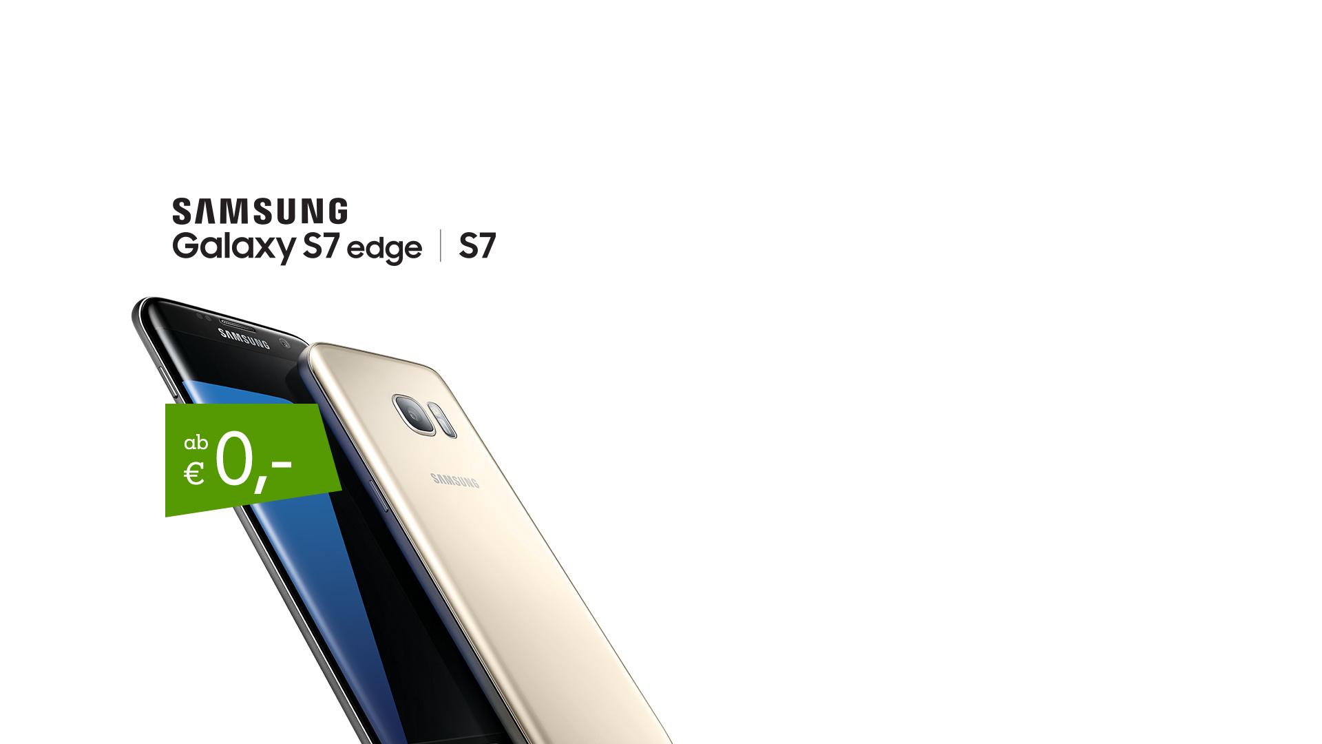 Samsung Galaxy S7 - jetzt in den Go! Business Tarifen
