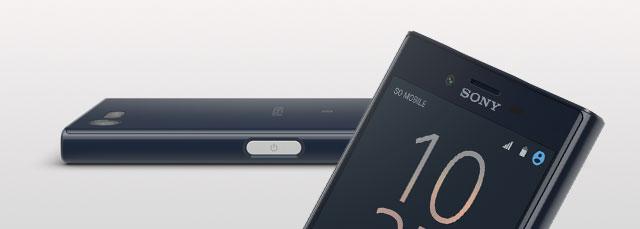 Sony Xperia X Compact Front- und Seitenansicht